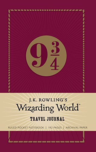 J.K. Rowling's Wizarding World: Travel Journal By Insight Editions