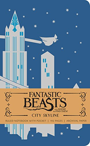 Fantastic Beasts and Where to Find Them: City Skyline Hardcover Ruled Notebook By Insight Editions