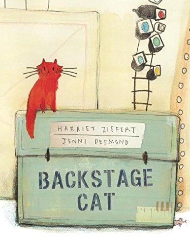 Backstage Cat By Harriet Ziefert