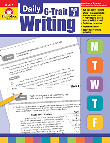 Daily 6-Trait Writing Grade 7 By Evan-Moor Educational Publishers