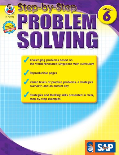 Step-By-Step Problem Solving, Grade 6 By Singapore Asian Publishers