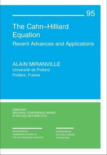 The Cahn-Hilliard Equation By Alain Miranville