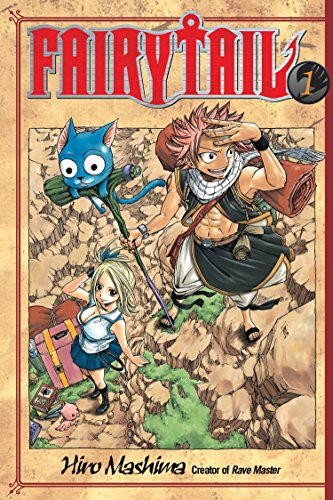 Fairy Tail 1 By Hiro Mashima