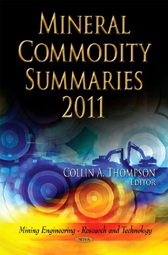 Mineral Commodity Summaries 2011 By Collin A. Thompson