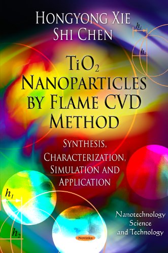 TiO2 Nanoparticles by Flame CVD Method By Hongyong Xie