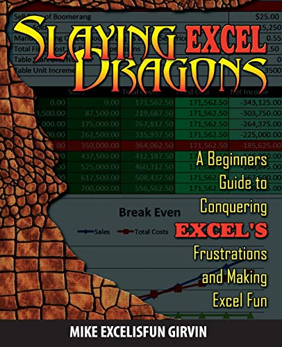 Slaying Excel Dragons: A Beginners Guide to Conquering Excel's Frustrations and Making Excel Fun By Mike Girvin