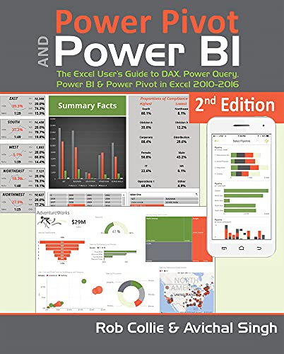 Power Pivot and Power Bi: The Excel User's Guide to Dax, Power Query, Power Bi & Power Pivot in Excel 2010-2016 By Rob Collie