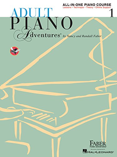 Adult Piano Adventures All-in-One Book 1 By Nancy Faber