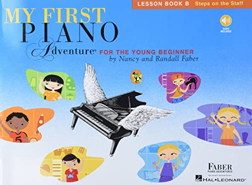 My First Piano Adventure - Lesson Book B/CD By Compiled by Nancy Faber