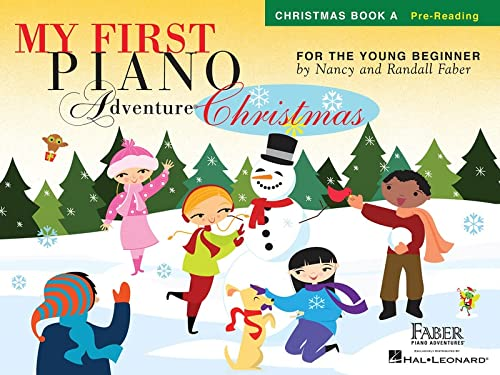 My First Piano Adventure - Christmas (Book A - Pre-Reading) By By (composer) Nancy Faber