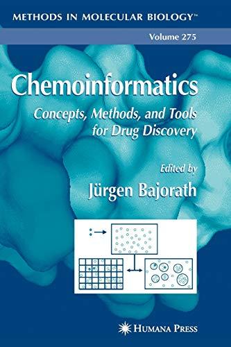 Chemoinformatics By Jurgen Bajorath