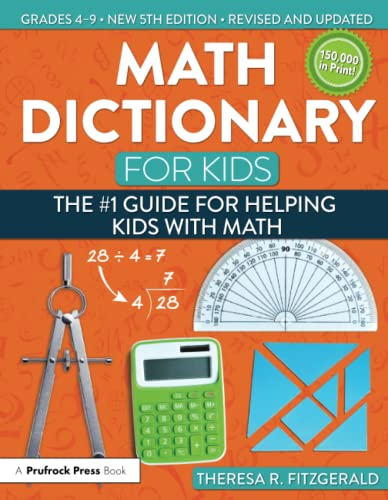 Math Dictionary for Kids von Theresa Fitzgerald