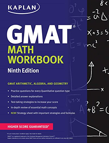 Kaplan GMAT Math Workbook By Kaplan Test Prep