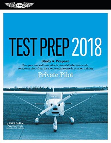 Private Pilot Test Prep 2018 By ASA Test Prep Board