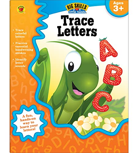 Trace Letters, Ages 3 - 5 By Brighter Child