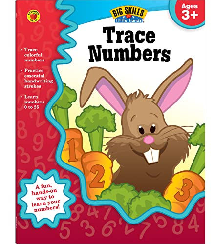 Trace Numbers, Ages 3 - 5 By Brighter Child
