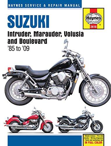 Suzuki Intruder, Maurader, Volusia & Boulevard By Haynes Publishing