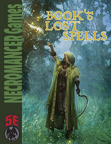 Book of Lost Spells - 5th Edition By Steve Winter
