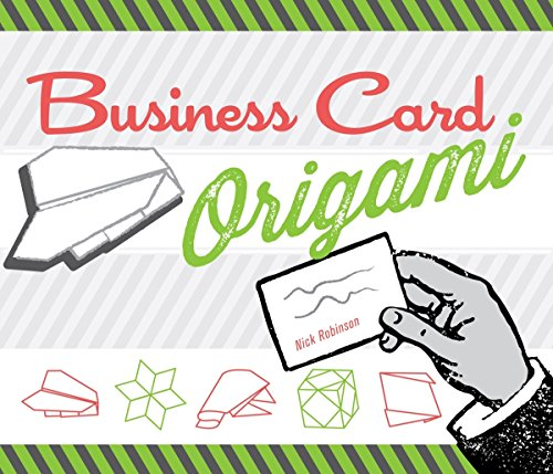 Business Card Origami By Nick Robinson