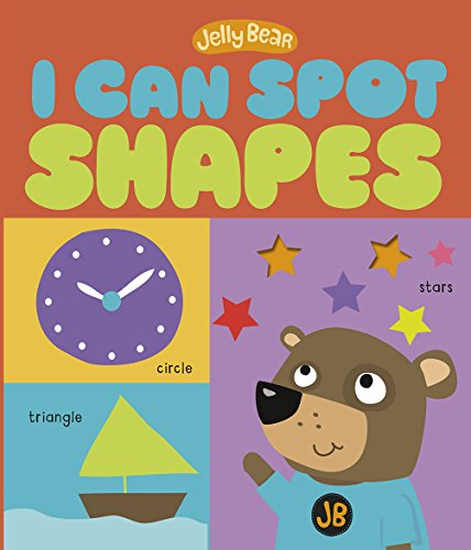 I Can Spot Shapes By Patricia Hegarty