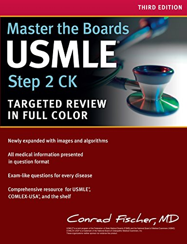Master the Boards USMLE Step 2 CK By Conrad Fischer, MD