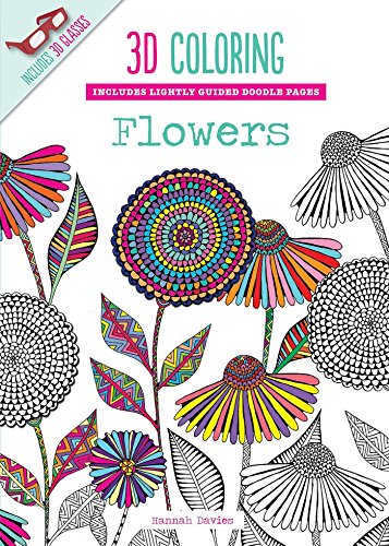3D Coloring Flowers By Hannah Davies