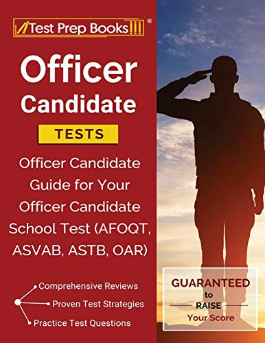 Officer Candidate Tests By Test Prep Books Military Exam Team