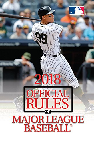 2018 Official Rules of Major League Baseball By Triumph Books