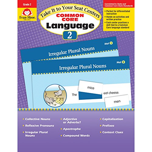 Take It to Your Seat Language Centers, Grade 2 By Evan-Moor Educational Publishers