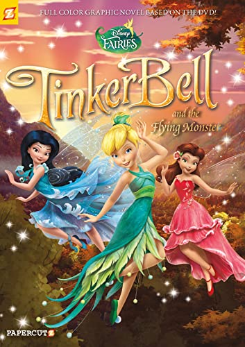Disney Fairies #19: Tinker Bell and the Flying Monster By Tea Orsi