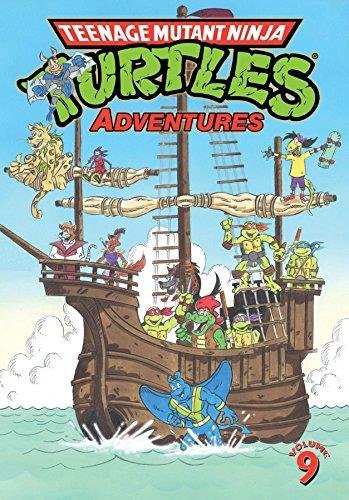 Teenage Mutant Ninja Turtles Adventures Volume 9 By Dean Clarrain