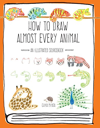 How to Draw Almost Every Animal By Chika Miyata