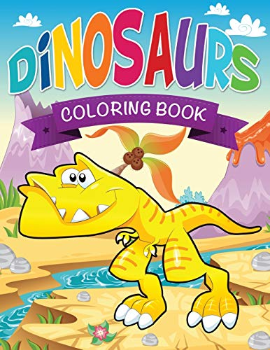 Dinosaurs Coloring Book By Speedy Publishing LLC