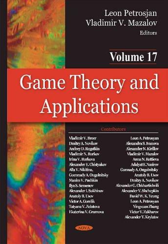 Game Theory & Applications By Vladimir Mazalov