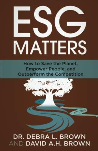 ESG Matters By Dr Debra Brown