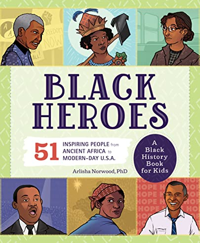 Black Heroes: A Black History Book for Kids By Arlisha Norwood