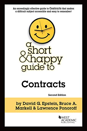 A Short and Happy Guide to Contracts By David Epstein