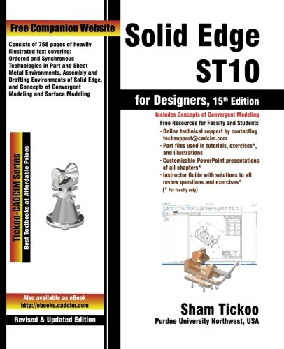 Solid Edge ST10 for Designers By Cadcim Technologies