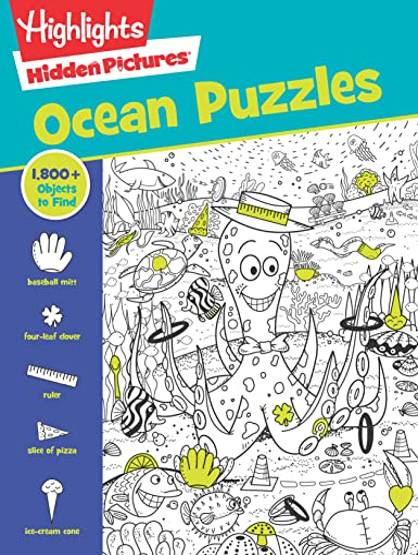 Ocean Puzzles von Highlights