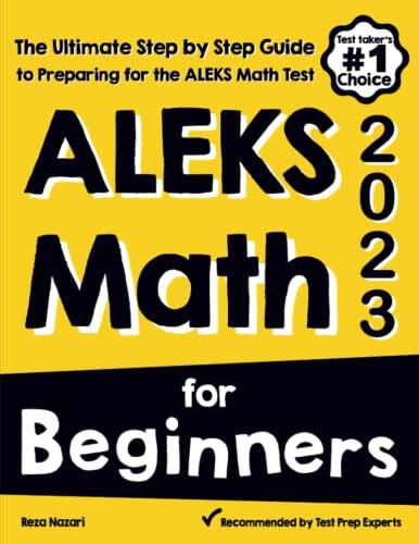 ALEKS Math for Beginners By Reza Nazari
