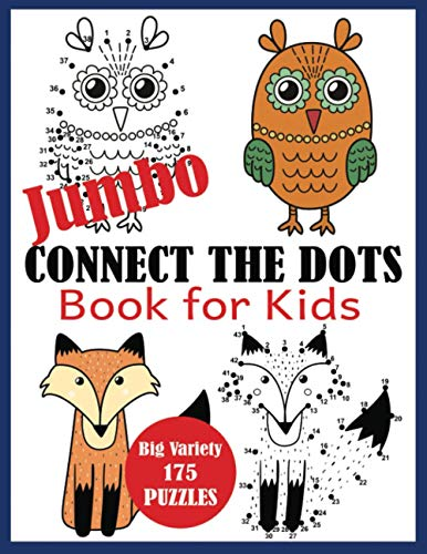 Jumbo Connect the Dots Book for Kids By Blue Wave Press