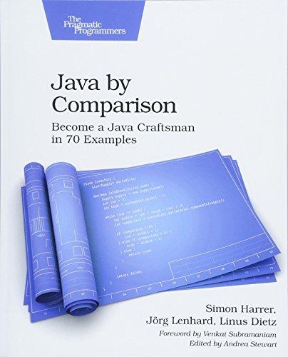 Java by Comparison By Simon Harrer