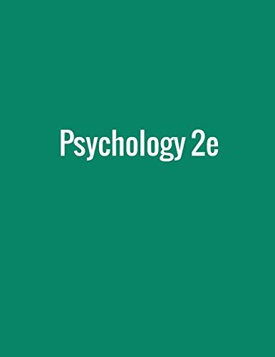 Psychology 2e By Rose M Spielman