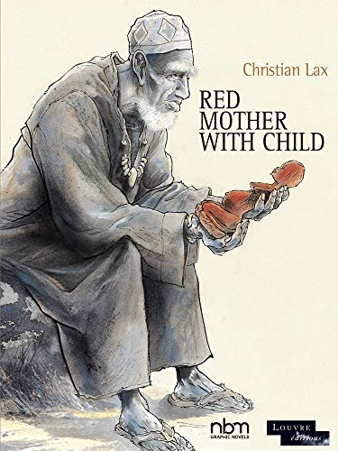 Red Mother With Child By Christian Lax
