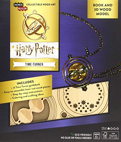 IncrediBuilds: Harry Potter: Time-Turner Book and 3D Wood Model By Incredibuilds
