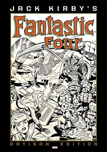 Jack Kirby's Fantastic Four Artisan Edition By Jack Kirby