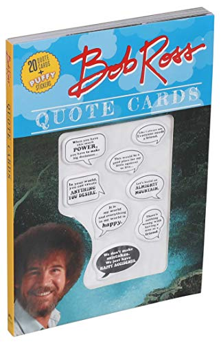 Bob Ross Quote Cards By Editors of Thunder Bay Press