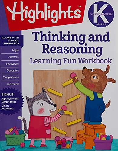 Kindergarten Thinking and Reasoning By Highlights
