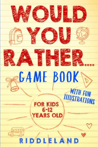 Would You Rather Game Book von Riddleland