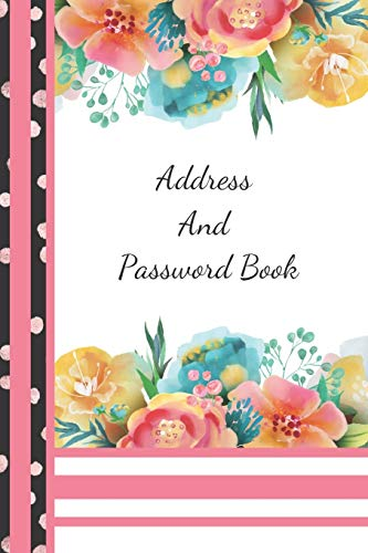 Address And Password Book By Not So Boring Journals
